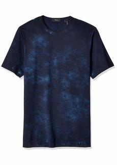 Theory Men's Tie Dye Prism Crewneck Tee  S