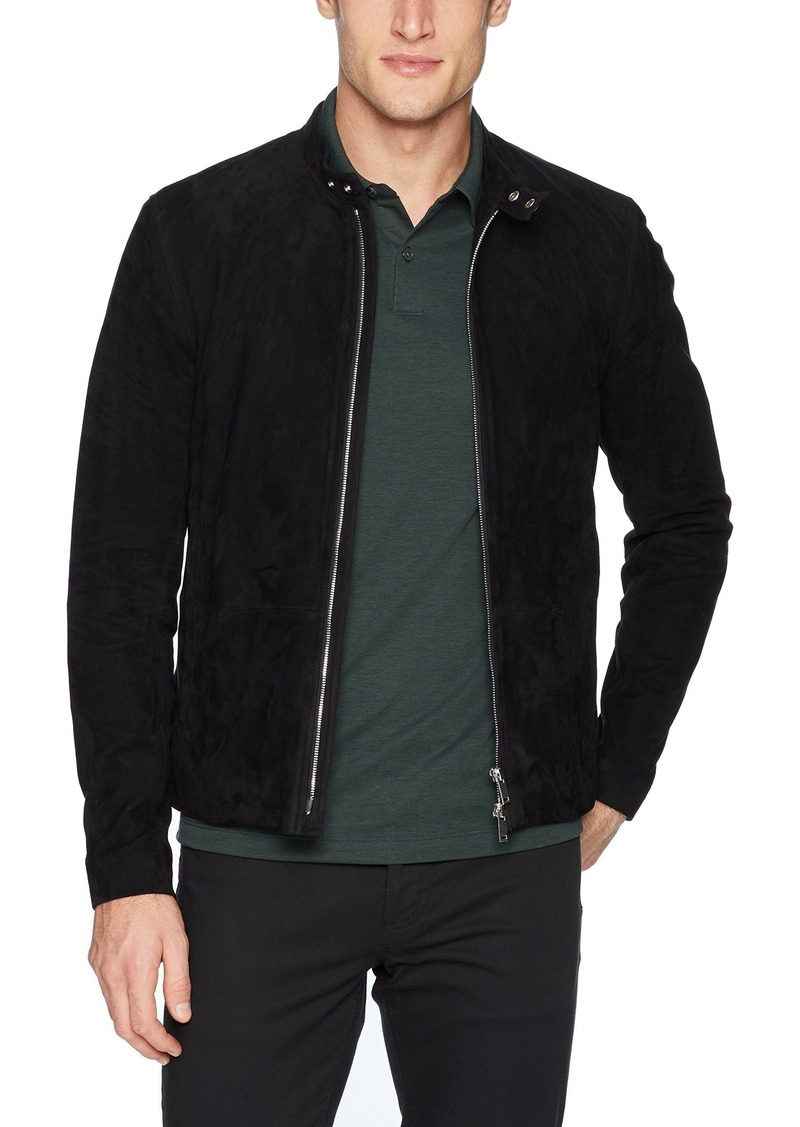 Theory Men's Wynwood Radic Suede Jacket  M