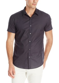 Theory Men's Zack PS S Short Sleeve Button Down Shirt