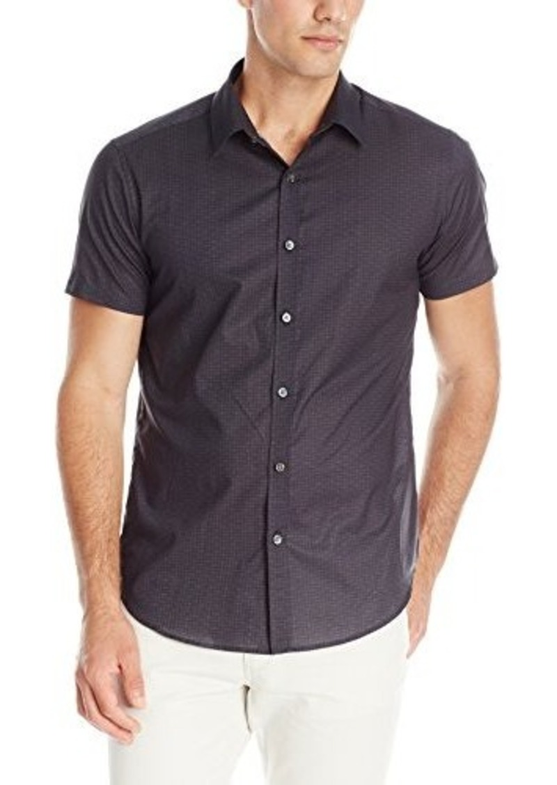 Theory Theory Men 39 S Zack Ps S Short Sleeve Button Down