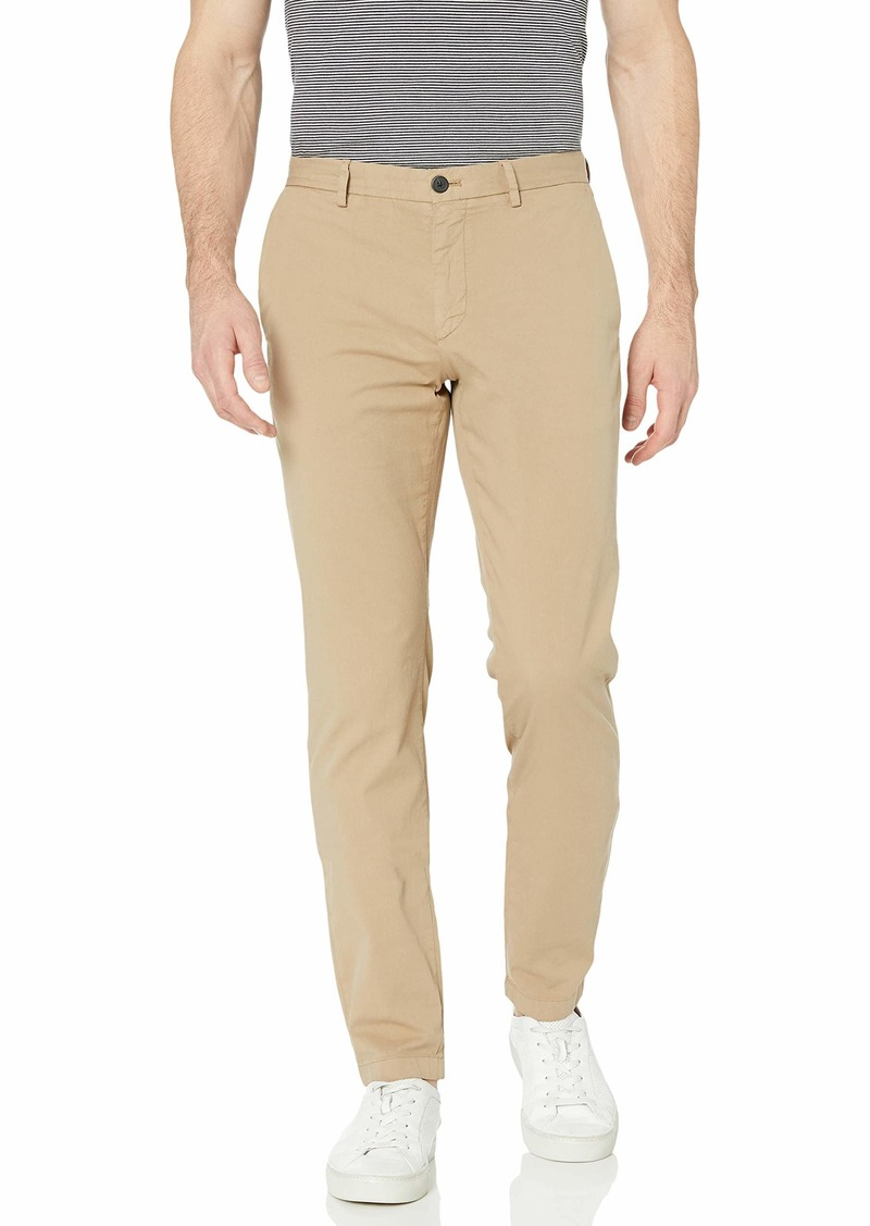 Theory Men's Zaine Patton Cotton Trouser bark