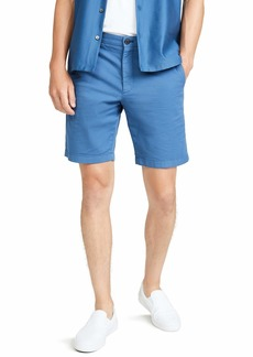 Theory Men's Zaine Patton Stretch Shorts  Blue