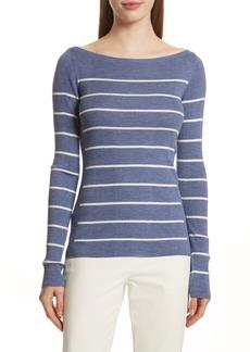 Theory Merino Wool Stripe Sweater