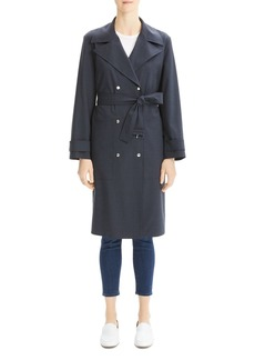 Theory Military-Style Trench Coat