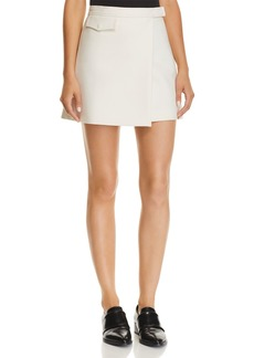Theory Mini Wrap Skirt