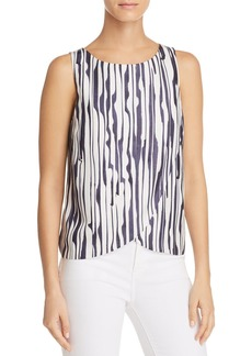 Theory Mintorey Printed Silk Top