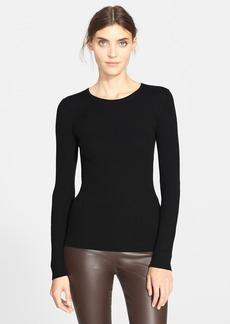 Theory 'Mirzi' Rib Knit Merino Wool Sweater