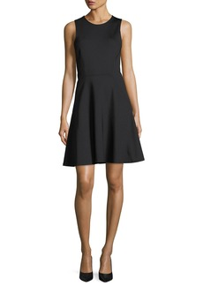 Theory Mod Panel Sleeveless Fit-and-Flare Dress