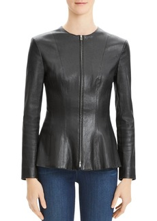 Theory Movement Leather Jacket