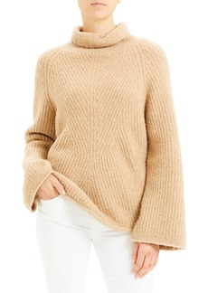 Theory Moving Rib Turtleneck Sweater