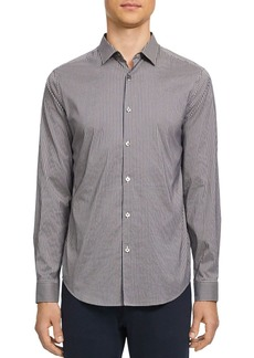 Theory Murray Tech Slim Fit Button-Down Shirt