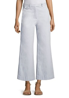 Theory Nadeema Wide-Leg Chino Pants