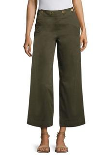 Theory Namid TS Wide-Leg Chino Pants