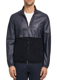 Theory Nathan Lite Nappa Leather Regular Fit Jacket
