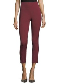 Theory Navalene High-Rise Cropped Leggings
