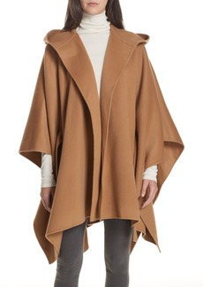 Theory New Divide Hooded Poncho Coat
