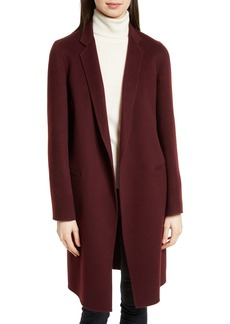 Theory New Divide Wool & Cashmere Coat
