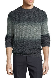 Theory New Sovereign Striped Sweater