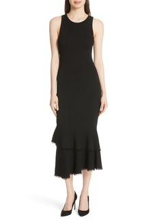 Theory Nilimary Prosecco Midi Dress