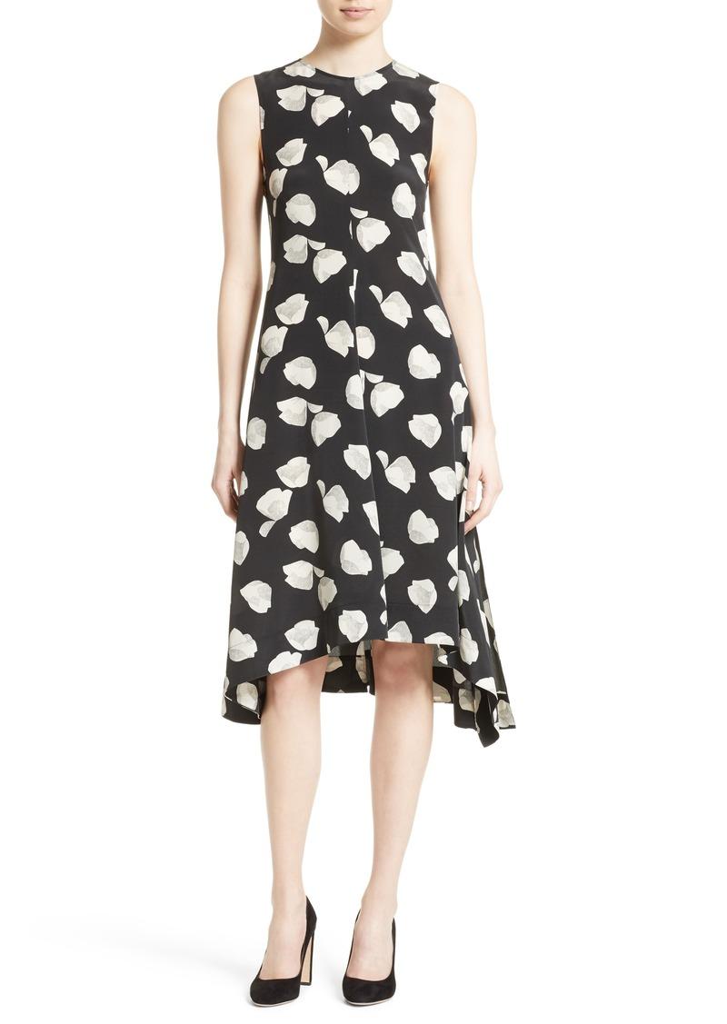 Theory Theory Nophella B Harper Print Silk Dress Dresses