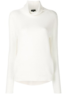 Theory Norman roll-neck sweater - White