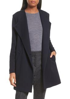 Theory Nyma Cortina Asymmetrical Coat