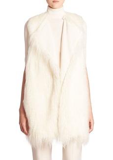 Theory Nyma Faux Fur Vest