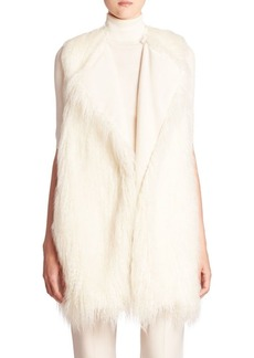 Theory Nyma Faux Fur Vest