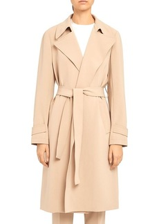 Theory Oaklane Belted Wrap Coat