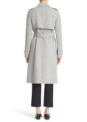 Theory 'Oaklane DF New Divid' Wool & Cashmere Trench Coat