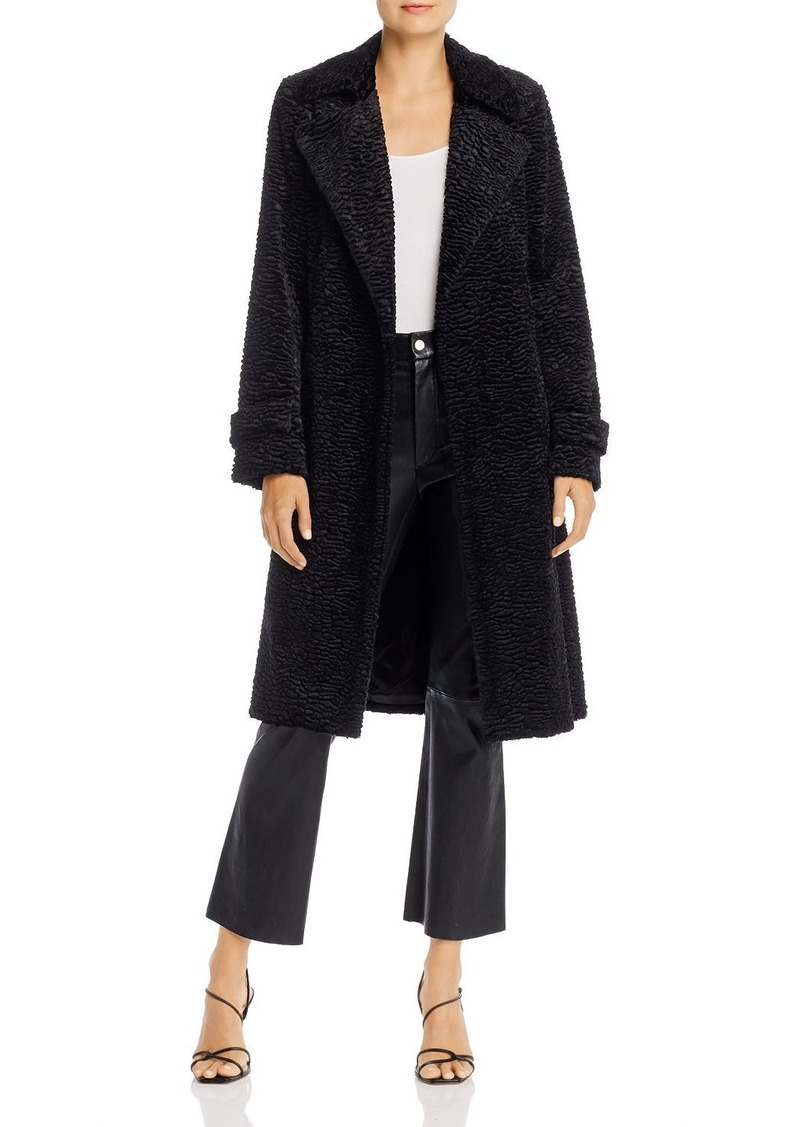 Theory Oaklane Teddy Belted Trench Coat