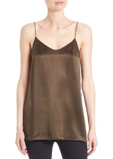 Theory Odete Silk Tank Top