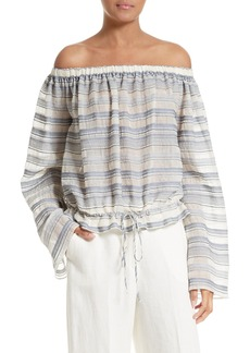 Theory Odettah Vall Stripe Top