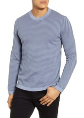 Theory Ollis Stripe Crewneck Wool Sweater
