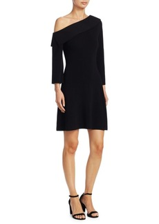 Theory One-Shoulder Knit Dress