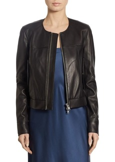 Theory Onorelle Leather Jacket