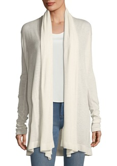 Theory Open-Front Featherweight Cashmere Cardigan