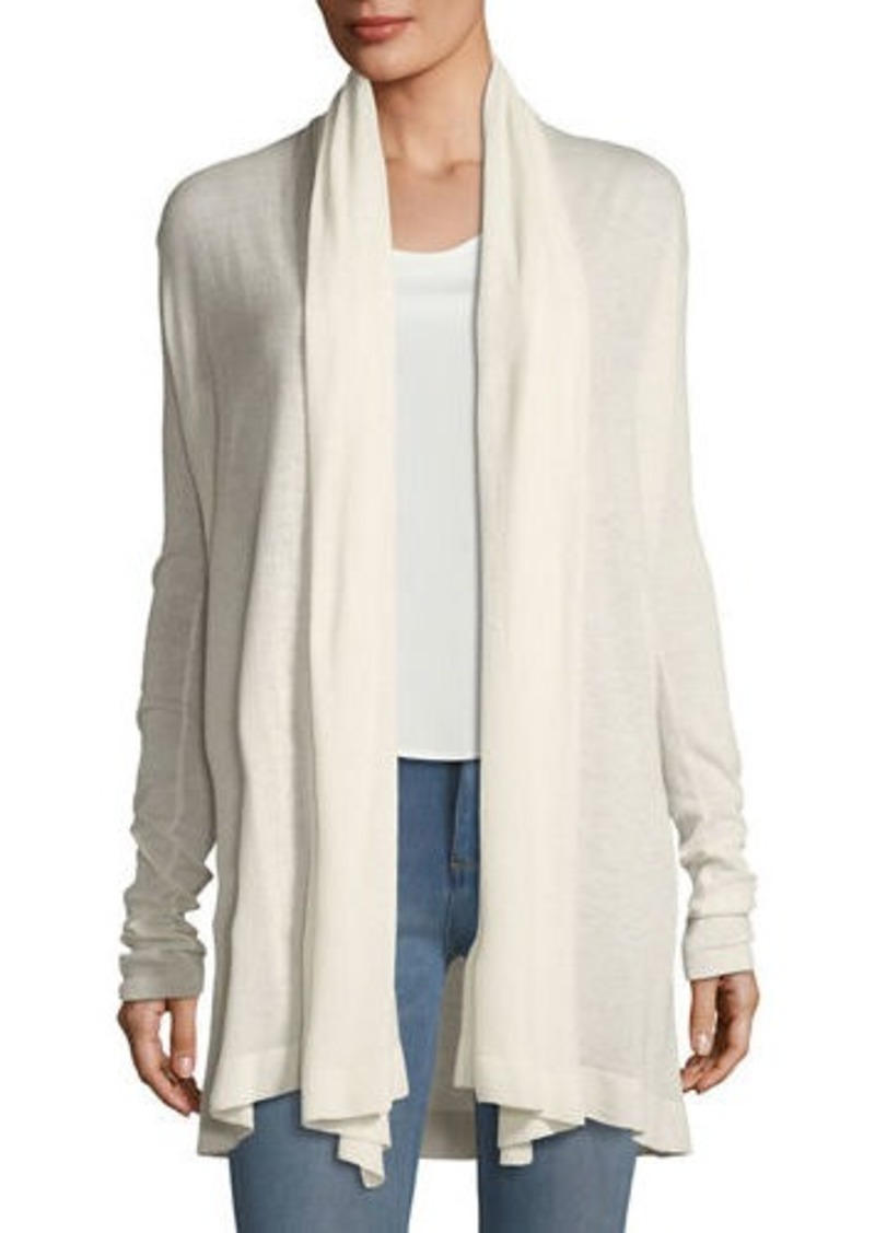 3c966214d2e Theory Open-Front Featherweight Cashmere Cardigan | Sweaters