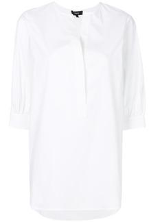 Theory open placket shirt - White