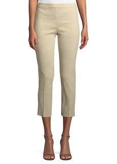 Theory Organic Crunch Basic Pull-On Pants