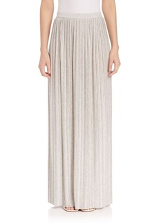 Theory Osnyo Pleated Maxi Skirt