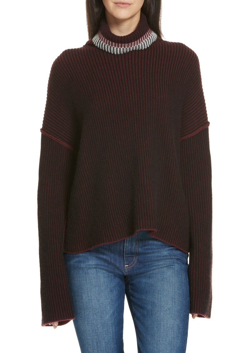 ea70bf66575 Theory Theory Oversize Cashmere Turtleneck Sweater