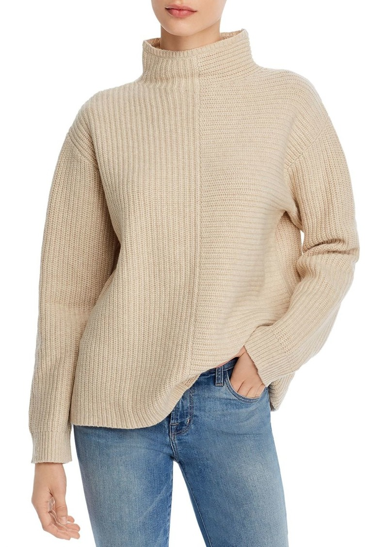Theory Oversize Funnel-Neck Sweater