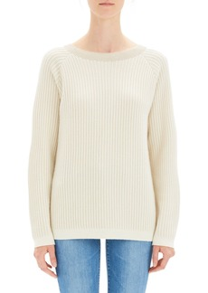 Theory Oversize Ribbed Cashmere Sweater