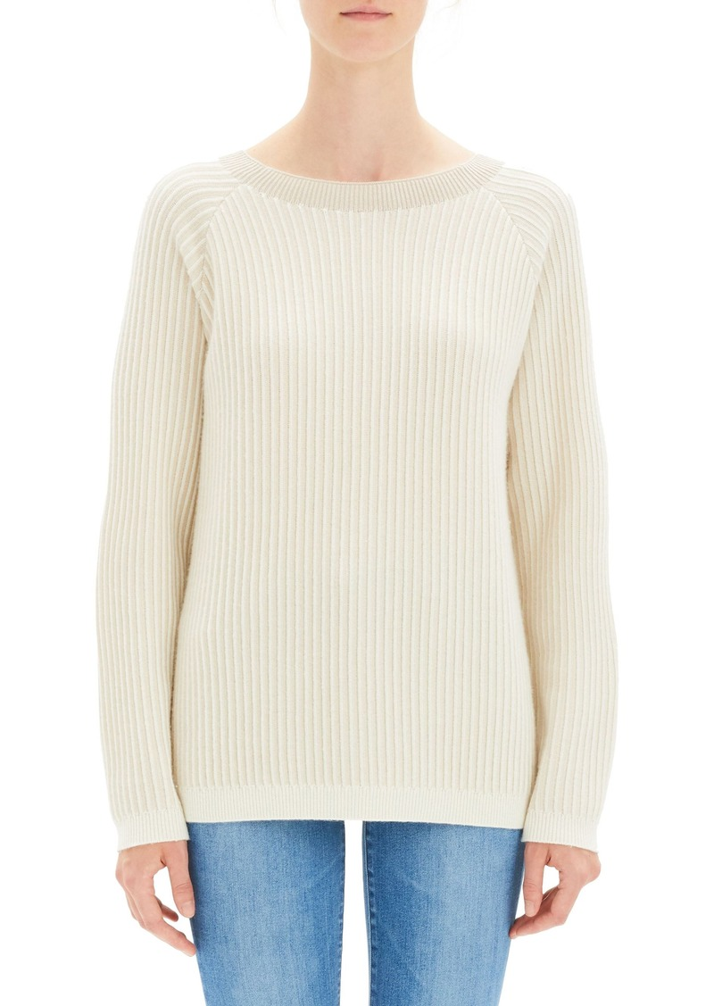 ab30180bc09 Theory Theory Oversize Ribbed Cashmere Sweater | Sweaters