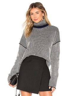 Theory Oversized Stripe Sweater