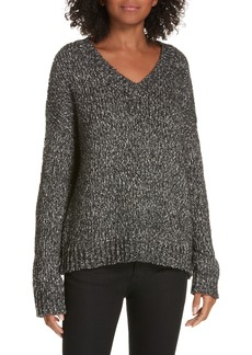 Theory Parkland Slouchy Cotton & Wool Sweater