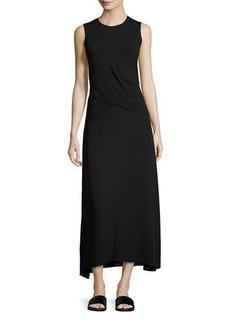 Theory Parthenia DR Fixture Ponte Sleeveless Midi Dress