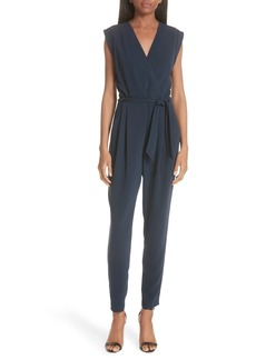 Theory Pavona Elevate Crepe Jumpsuit
