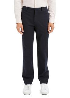 Theory Payton Regular Fit Ponte Stripe Pants